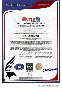 Mutlusu ISO 9001 2015